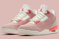小姐姐专属!Air Jordan 3推出Rust Pink粉红款