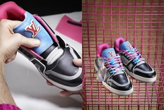 Virgil Abloh新款LV运动鞋均采用旧鞋制成
