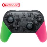 350元!任天堂 海外版 pro 游戏手柄 粉绿喷射战士款