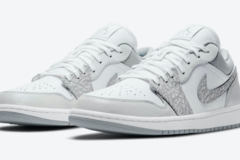 "Air Jordan 1 Low PRM ""Elephant Print"" 即将发售"