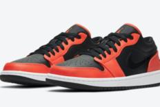 Air Jordan 1 Low SE Black Orange细节图新曝光