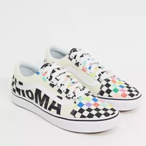 VANS x MoMA Old Skool男女同款板鞋