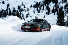 奥迪纯电跑车 e-tron GT 将于 2 月 9 日首发