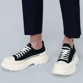 Alexander McQueen Tread Slick 黑色运动鞋