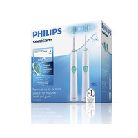 Philips飞利浦Sonicare Easy Clean 声波电动牙刷HX6512/02两支装