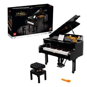 LEGO乐高 创意系列 可弹奏三角钢琴 21323