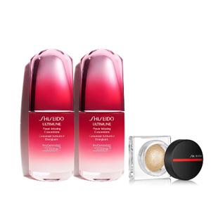内容有变!Shiseido资生堂红腰子50ml*2+高光套装