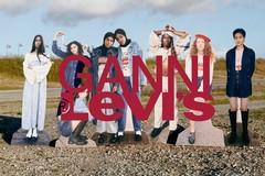 Levi's® 携手丹麦品牌Ganni搭载联名服饰