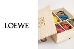 Loewe罗意威释出mini经典包礼盒