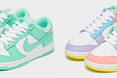 Nike Dunk Low系列将推出2款清新配色