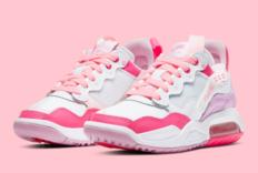 "Jordan MA2 ""Pink ""全新配色官图释出"