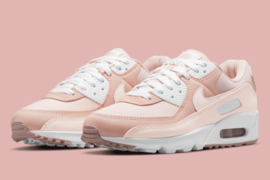 "Nike Air Max 90 ""Barely Rose/Pink Oxford""全新配色官图释出"