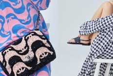 Chanel 2021春夏新款双C Logo图腾包包预览