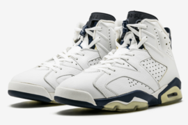 "Air Jordan 6 ""Midnight Navy"" 全新配色官图释出"