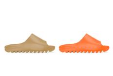 "Yeezy Slide ""Orange""和""Core""全新配色官图释出"