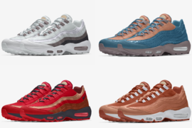 专属定制 | Nike Air Max 95 Premium By You 官图释出