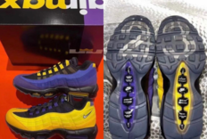 "LeBron James x Nike Air Max 95 ""Lakers""联名系列细节图新曝光"
