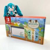 补货!《动物森友会》限定版 Nintendo Switch 游戏主机