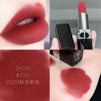 720补货!Dior烈焰蓝金唇膏丝绒#999/840
