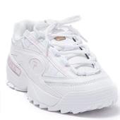 降价!FILA斐乐 X D-Formation合作款老爹鞋 粉色