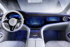Mercedes-Benz 电能车型 EQS 完整内装样貌新曝光