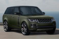 "Range Rover SVAutobiography 全新别注车型""Ultimate Editions""发布"