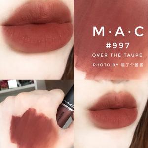 MAC魅可POWDER KISS尤雾唇釉 997等热门色号