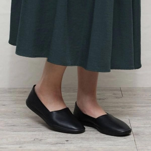 ECCO 爱步 Simpil简约系列 女士牛皮平底一脚蹬单鞋 208603