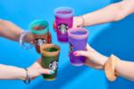 星巴克推出多色水杯套装系列助力公益
