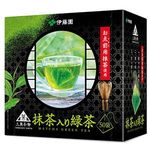 伊藤园 抹茶绿茶 50袋