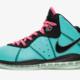 "Nike LeBron 8 ""South Beach""dc8380-500  复刻鞋款曝光"