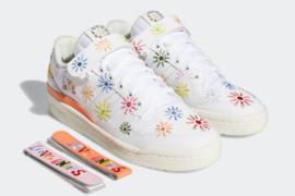 adidas GW24系列对Forum Low和Nizza进行彩色重构