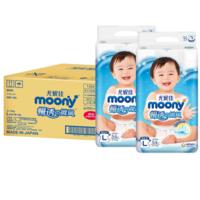 【0.54元/片】234.2元 包邮!尤妮佳 婴儿纸尿裤 L108片*4件