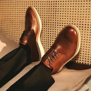 Ecco美国官网父亲节精选男士休闲鞋一律$69.99促销