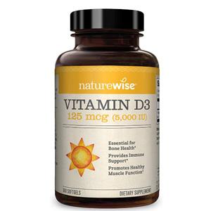 NatureWise 维生素D3 软胶囊 360粒