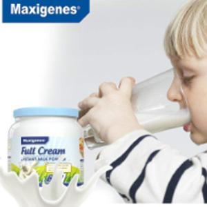 两款补货!Maxigenes美可卓(蓝胖子)全脂/脱脂 高钙成人奶粉 1kg/瓶