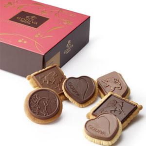 Godiva歌帝梵Assorted Chocolate Biscuit2件装巧克力礼盒
