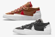 心有不甘!周六两双 sacai x Nike 抽签发售!