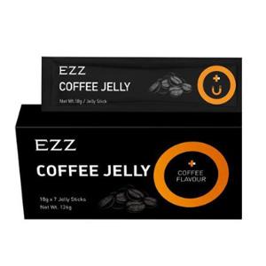 降价!EZZ 黑咖啡酵素果冻 18g X 7袋 (益生元酵素 清肠排油)