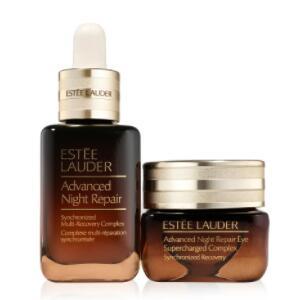 买一送一!Estée Lauder全新第7代小棕瓶30ml+眼霜15ml