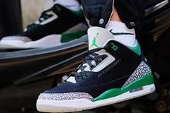 """绿鸭子!Air Jordan 3 """"Pine Green""""释出上脚照!"""