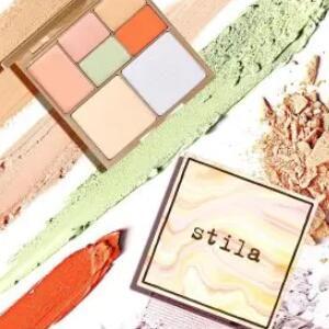 Stila Cosmetics美国官网精选色修遮瑕盘、眼影盘无门槛6折