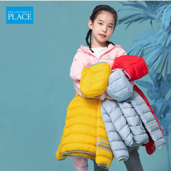99元包邮!TCP 2021冬季新款白鸭绒男女童羽绒服