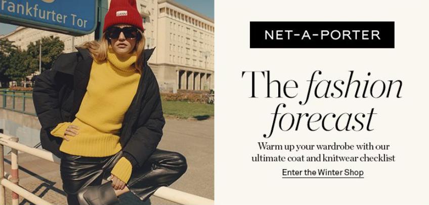 Net-a-Porter新开秋冬系列大衣和针织品主题活动