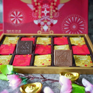 Macys梅西百货精选Godiva歌帝梵巧克力额外7折促销