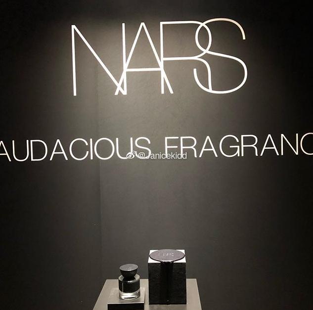 NARS推出品牌第一款香水10月23日上市