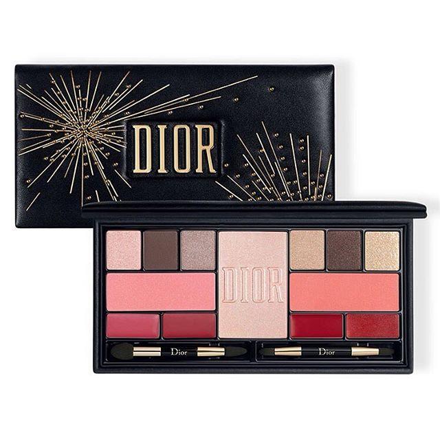 Dior迪奥2019圣诞彩妆盘10月25日上市