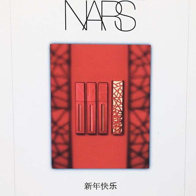 Nars中国新年系列北美Barneysny刚刚上架