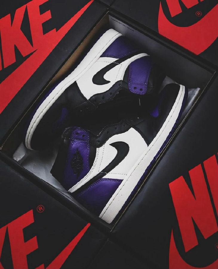 紫脚趾又来了!Air Jordan 1 全新配色曝光(美国 2020年4月上市)